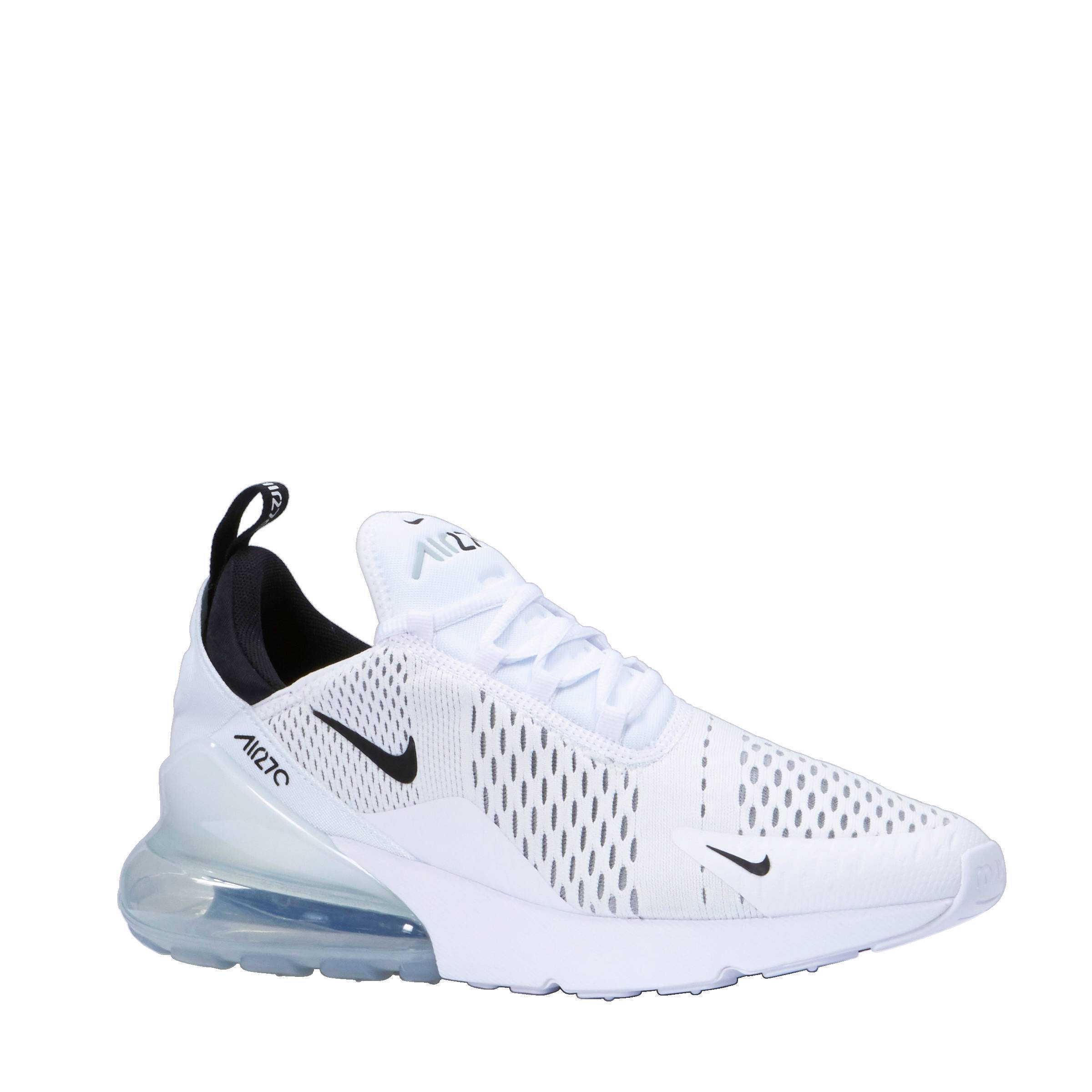 nike air max wit zwart dames