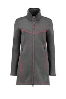 Lizzy outdoor fleecevest grijs