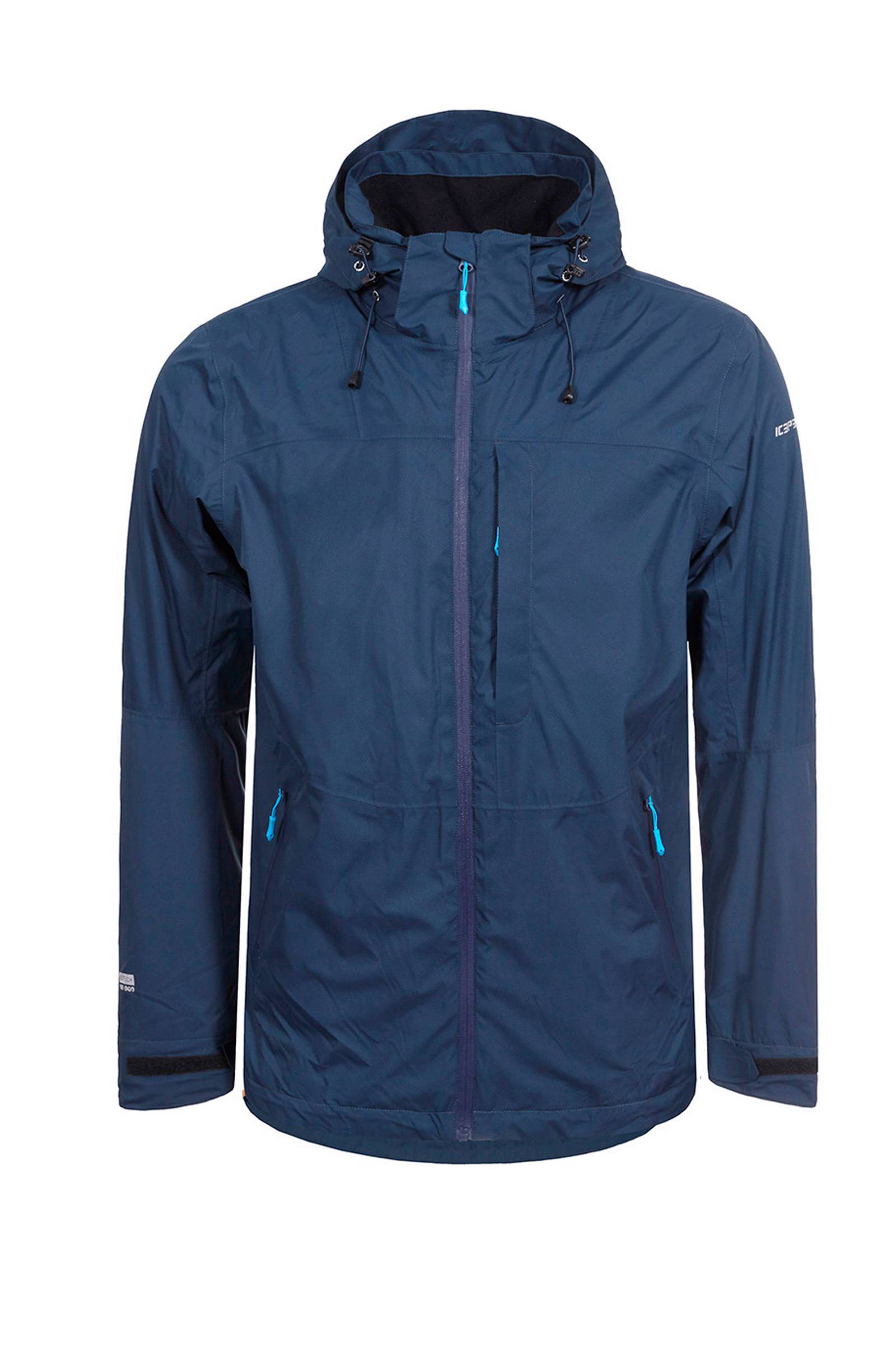 Sahar Icepeak jas donkerblauw outdoor hardshell C6wq48