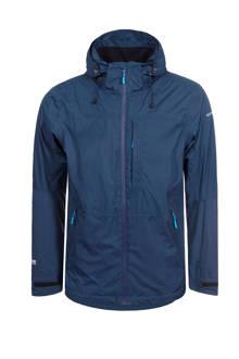 Sahar outdoor hardshell jas donkerblauw