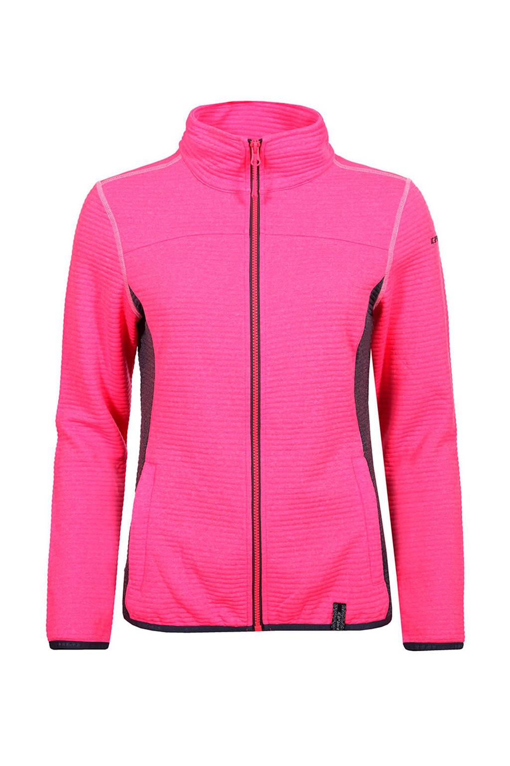 Icepeak Sheila midlayer outdoor vest, Roze