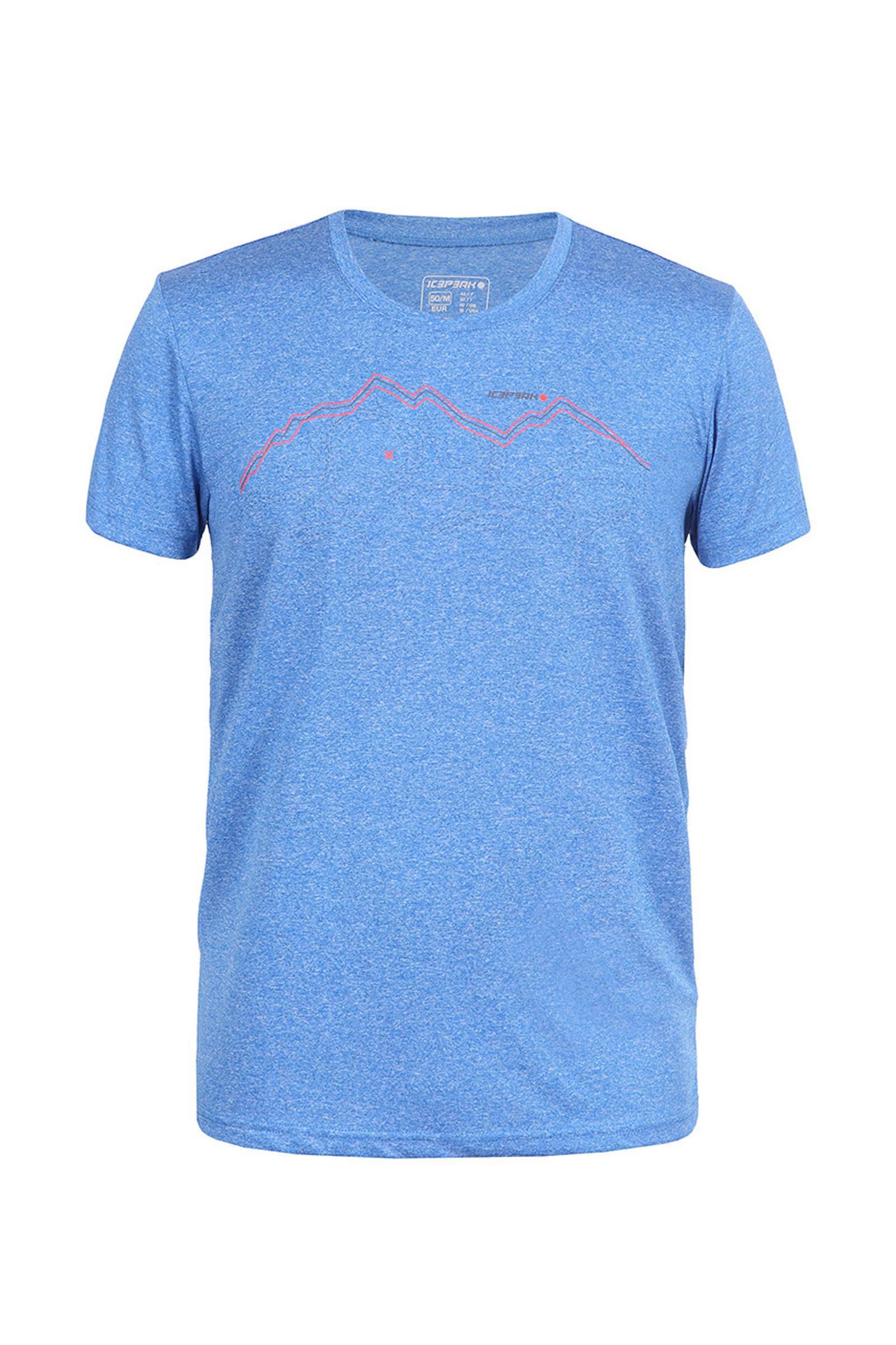 blauw Saif T shirt Icepeak outdoor nxFTqwIf