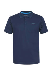 Kyan outdoor polo donkerblauw