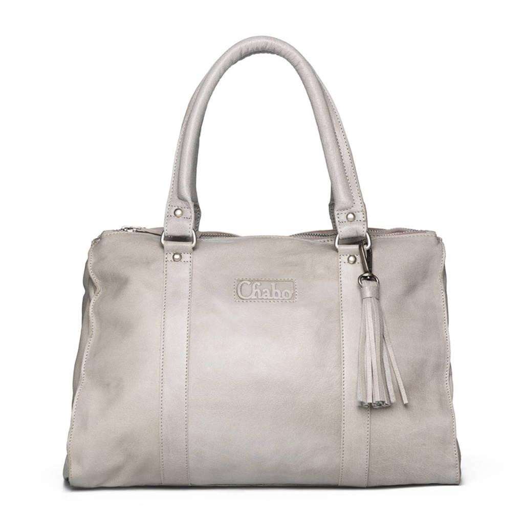 Chabo Bags Chabo Buff Bags Kit's Classic  Kit's Classic leren handtas, Grey