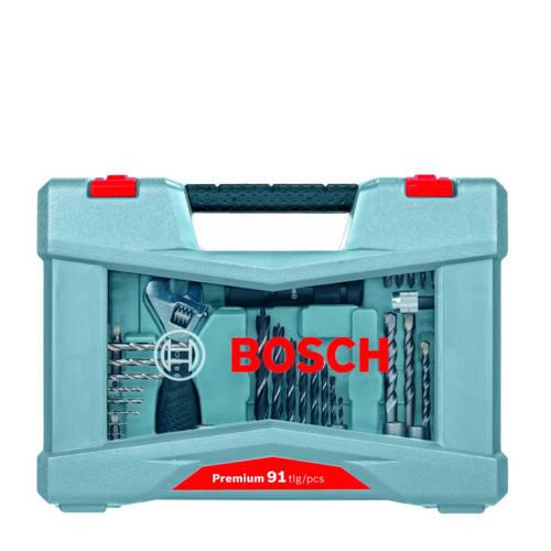 Bosch boren- en schroefbitset 91-delig kopen