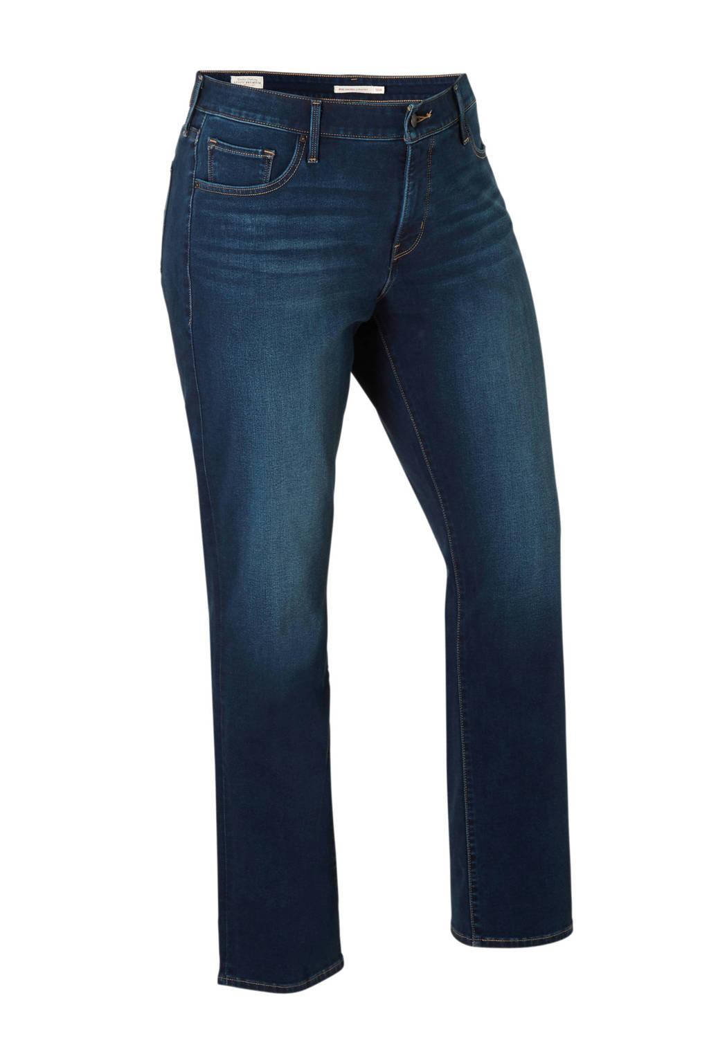 Levi's Plus straight fit jeans, Dark denim