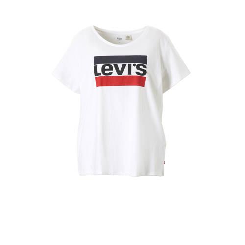 Levi's Plus T-shirt met logo