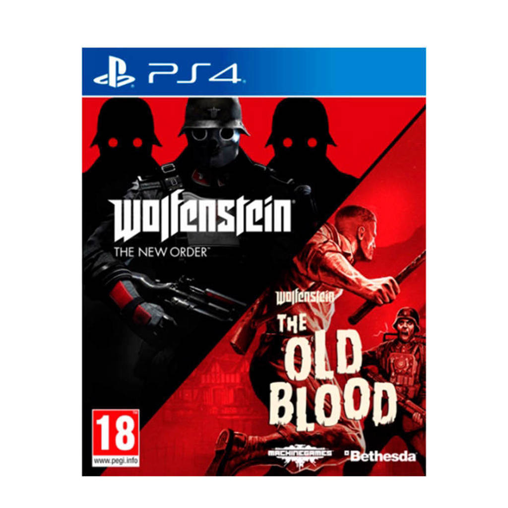 Wolfenstein - The new order & The old blood (Double pack) (PlayStation 4)