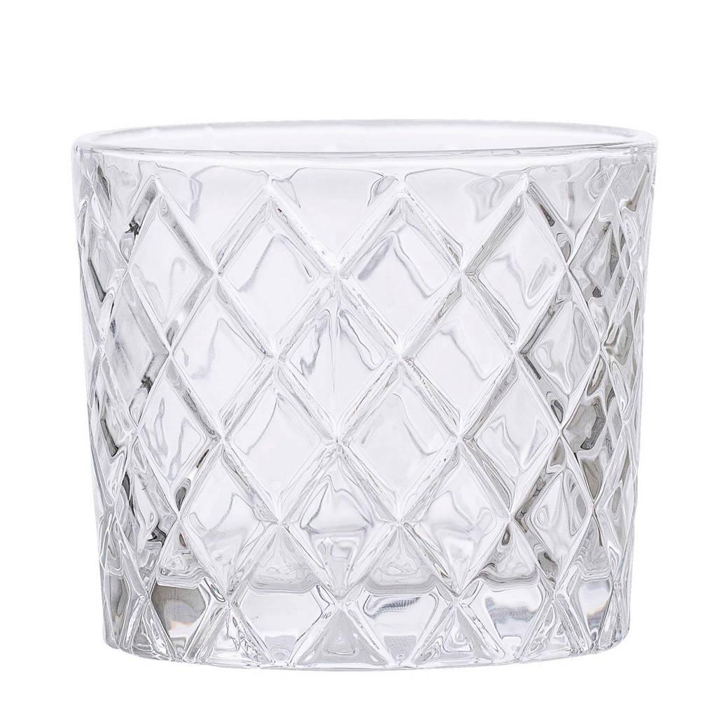 Bloomingville waterglas (Ø9 cm), Transparant