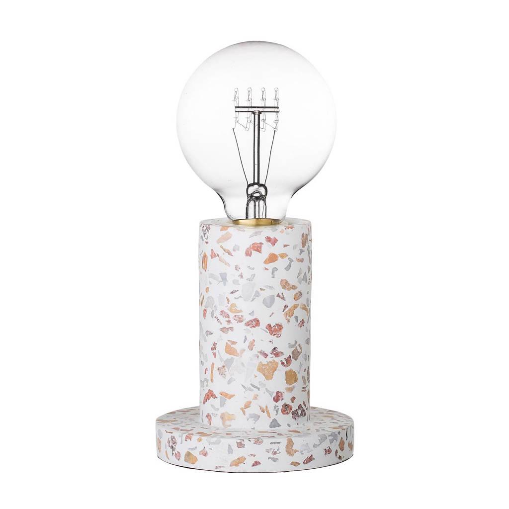 Bloomingville tafellamp, Wit/multi