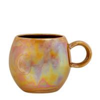 Bloomingville Paula mok (Ø8,5 cm), Bruin/oranje