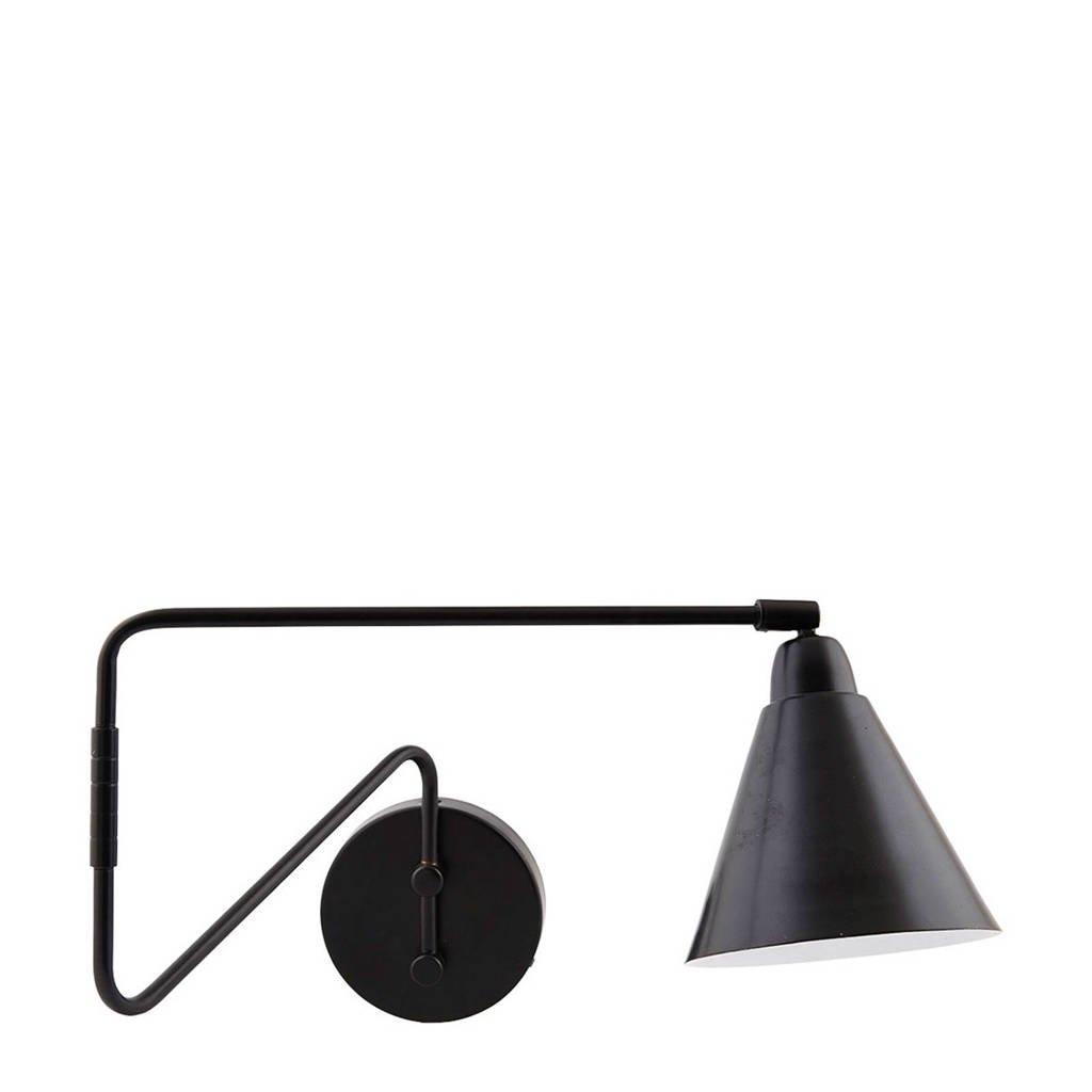 House Doctor wandlamp, Zwart