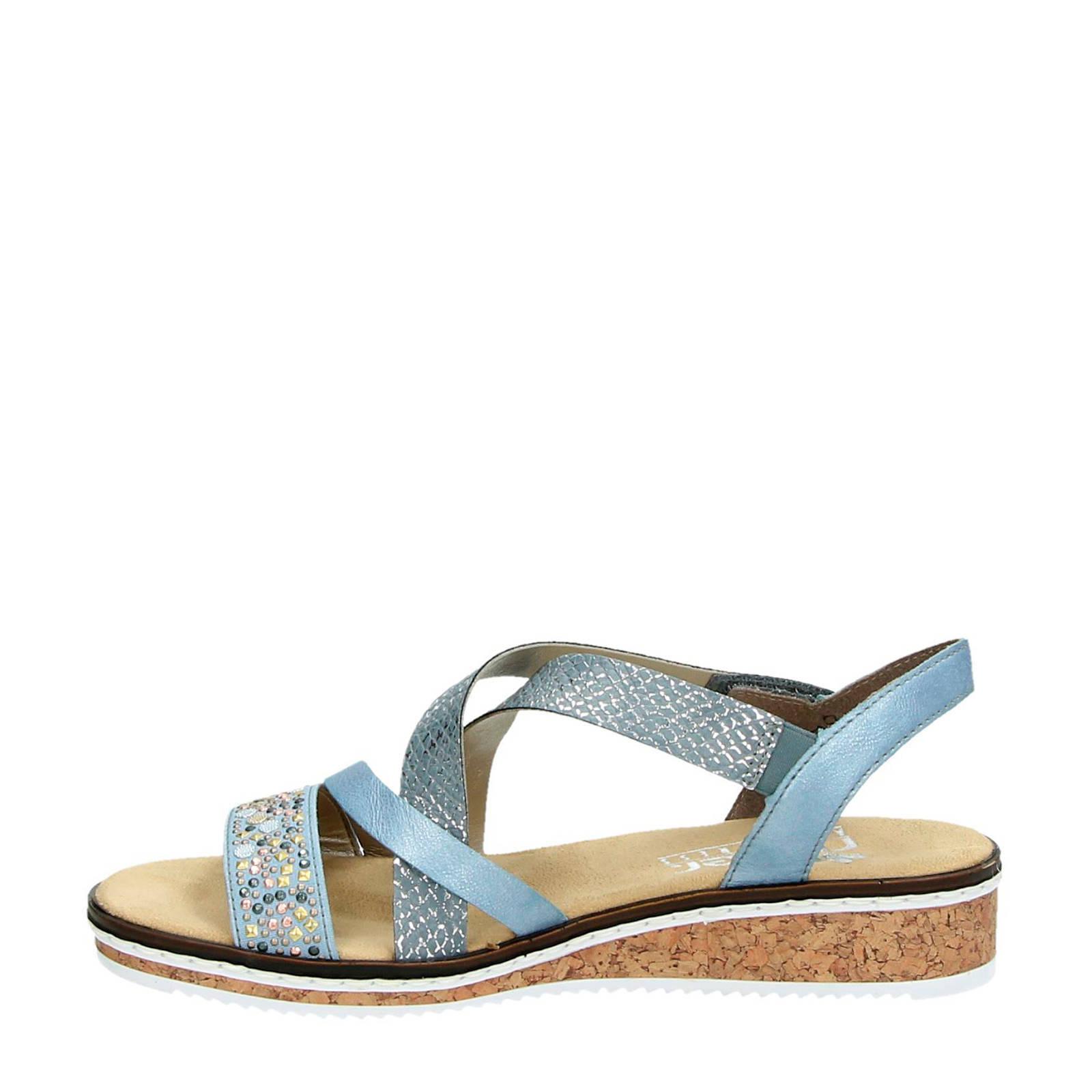 sandalen met honingraat