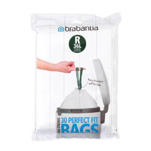 Brabantia 30 afvalzakken, code R, 36 liter kopen