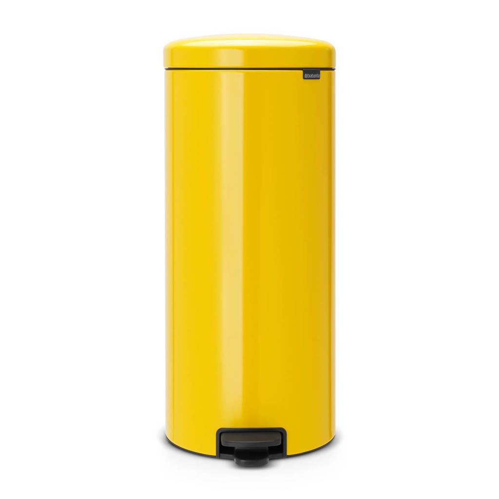 Brabantia Newlcon pedaalemmer, 30 liter, Daisy Yellow