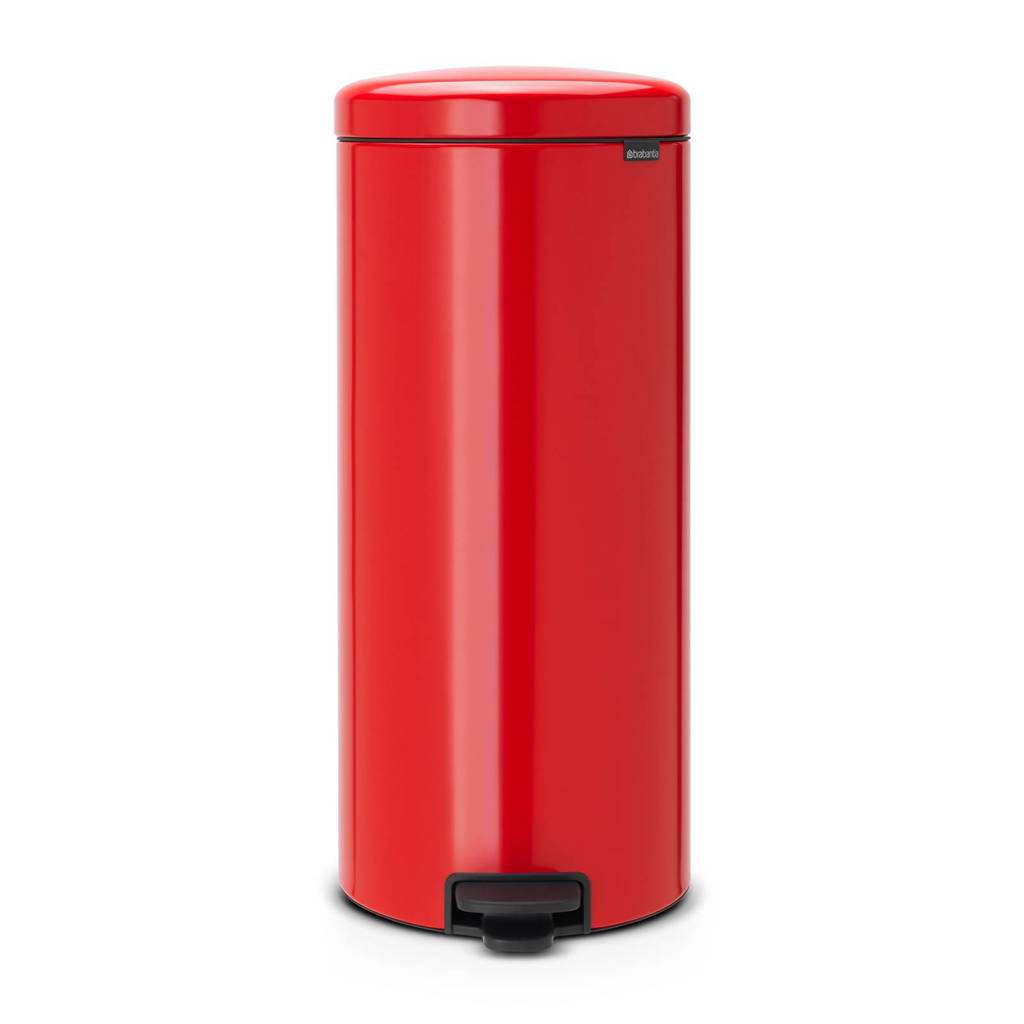 Brabantia Newlcon pedaalemmer, 30 liter, Passion red