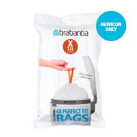 Brabantia 80 afvalzakken, code X 10-12 liter