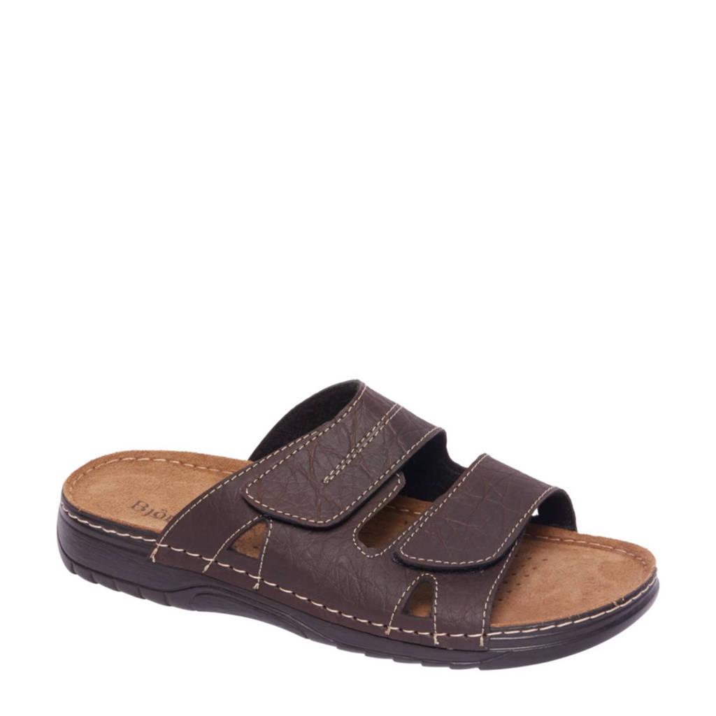 Bjorndal   slippers bruin, Donkerbruin