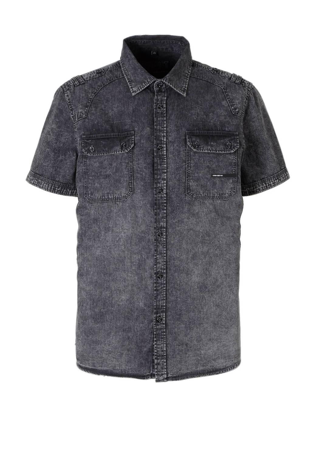 Donkergrijs Overhemd.C A Angelo Litrico Overhemd Wehkamp