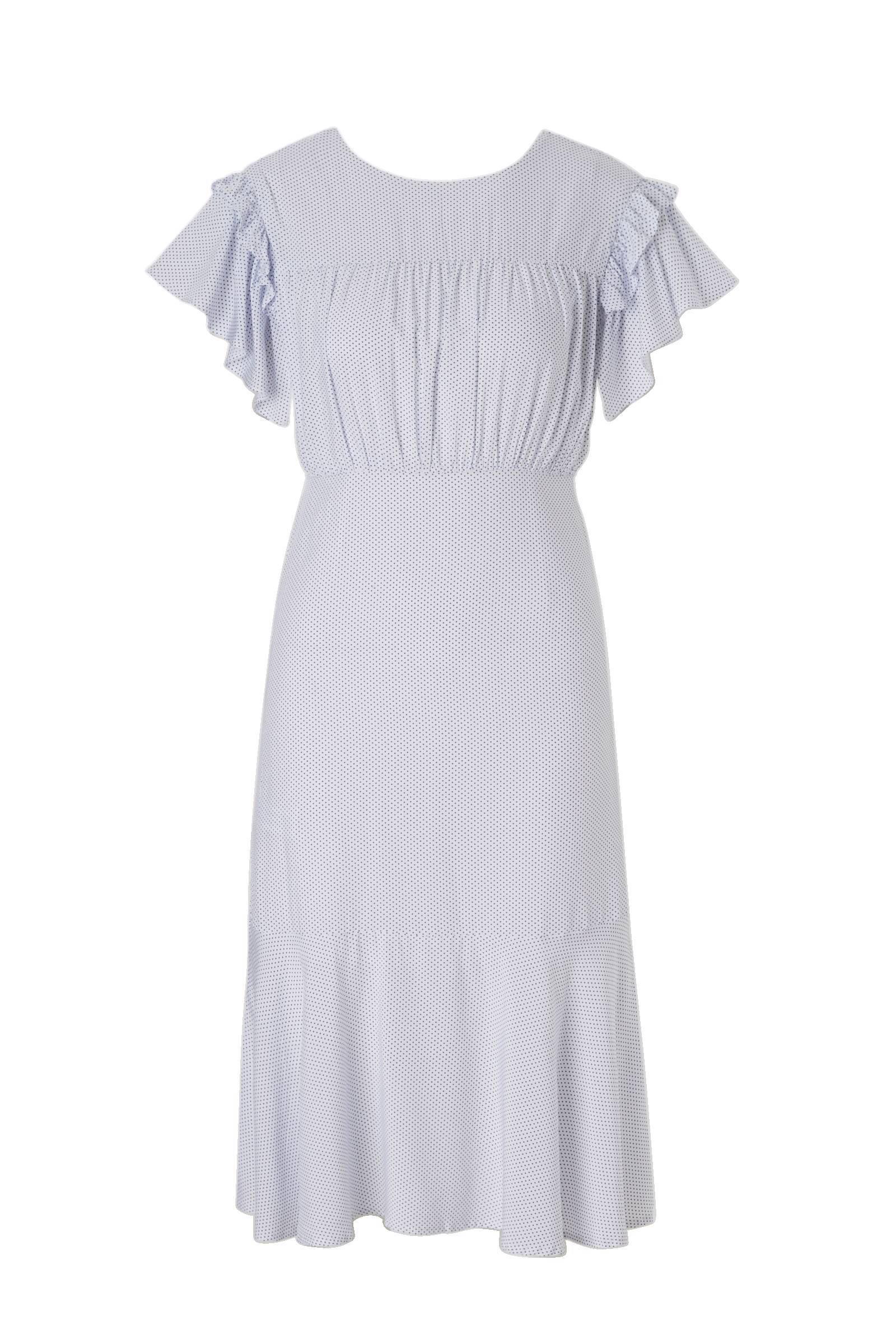 rugdecolleté jurk