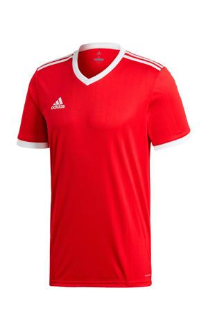 Senior  sport T-shirt Tabela rood/wit