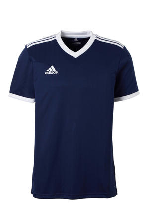 Senior  sport T-shirt Tabela donkerblauw/wit