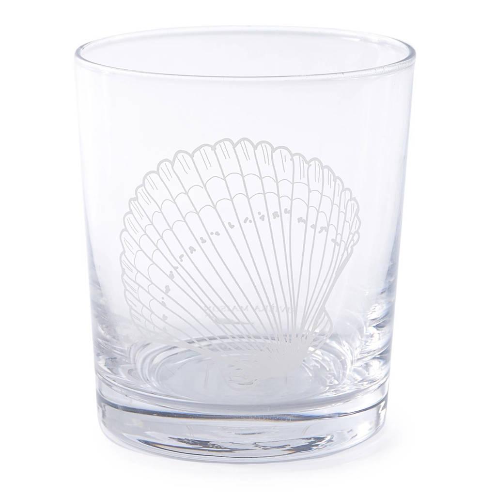 Riviera Maison Treasure Of The Sea waterglas (Ø9 cm), Transparant