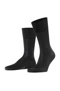 FALKE Tiago sokken antraciet, Antraciet melange