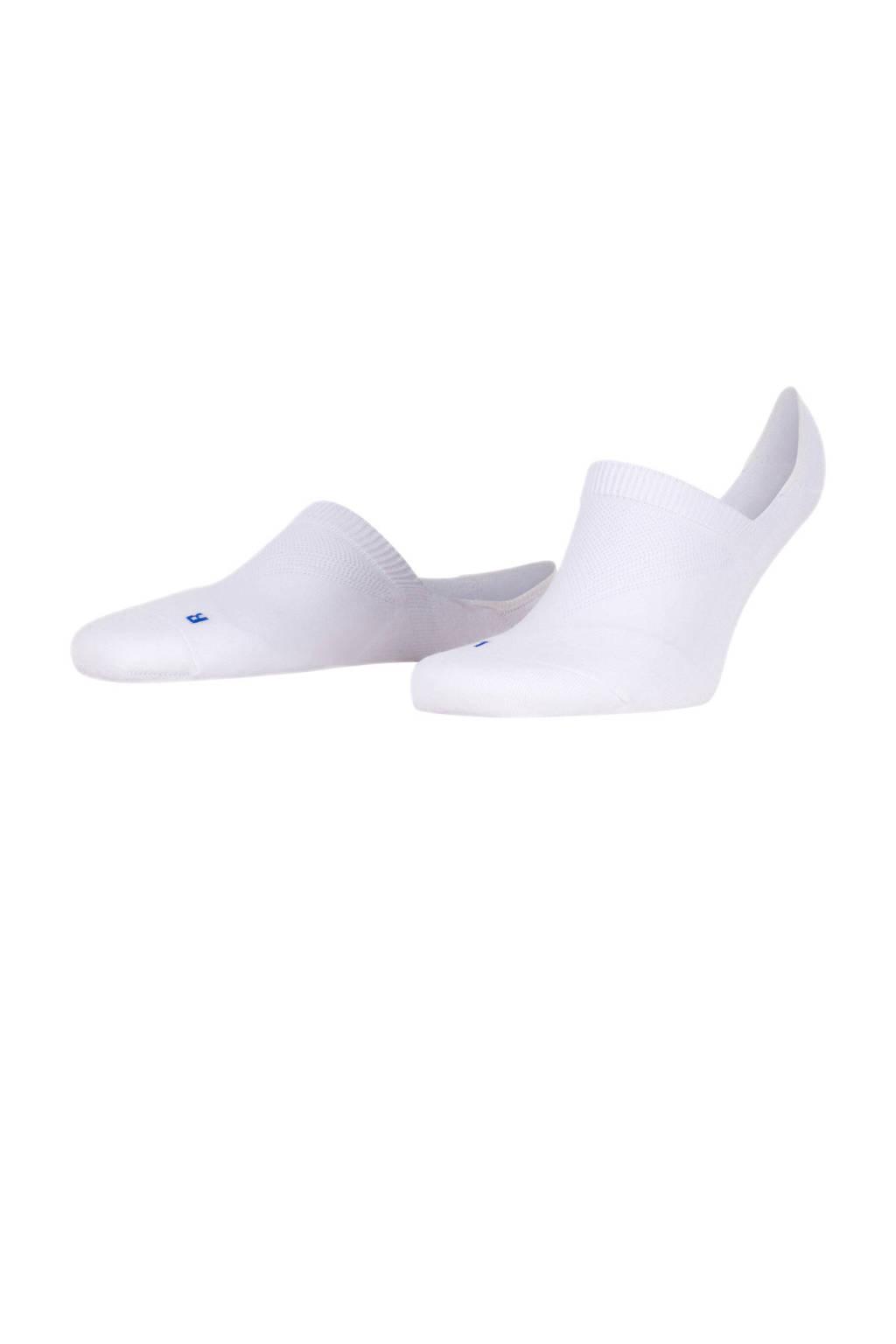 FALKE Cool Kick Invisible sneakersokken wit, Wit