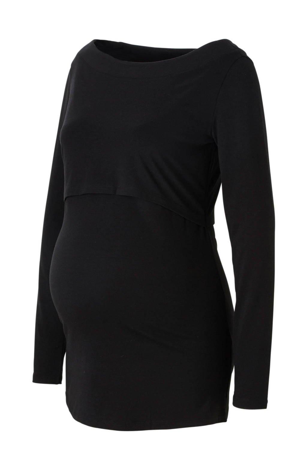 Noppies zwangerschaps + voedingstop, Zwart
