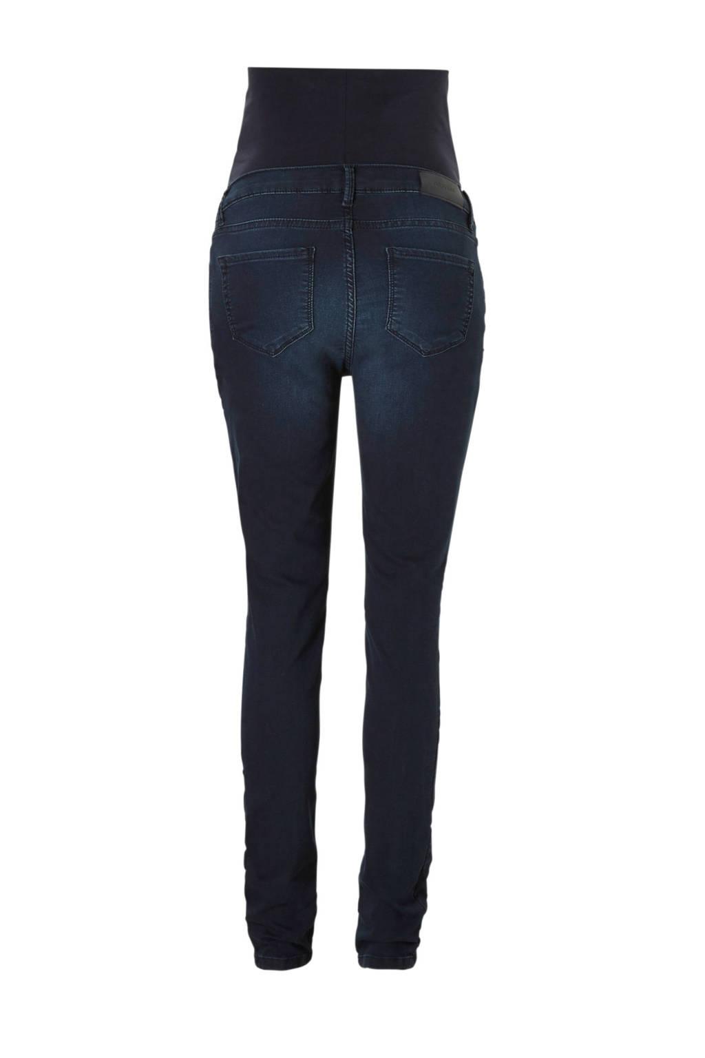 Noppies zwangerschaps positie skinny jeans Avi, Donkerblauw