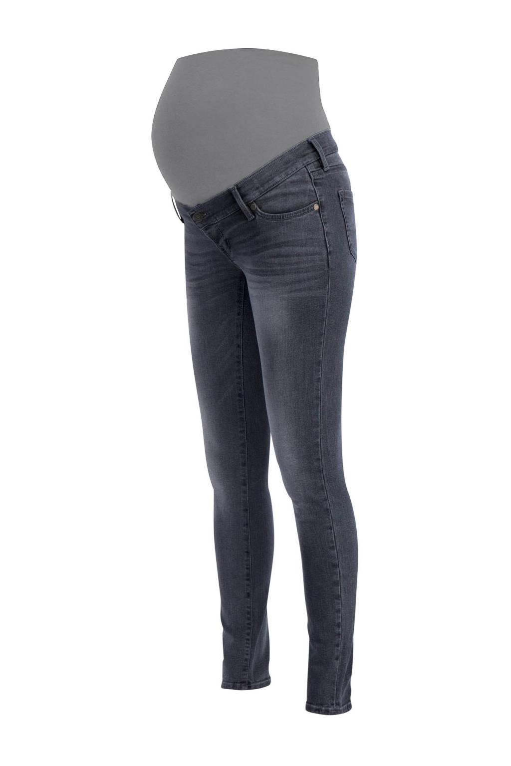 8823ee140f1300 Noppies zwangerschaps skinny jeans Avi Everyday Grey   wehkamp