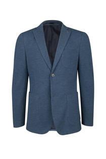 WE Fashion slim fit colbert donkerblauw (heren)
