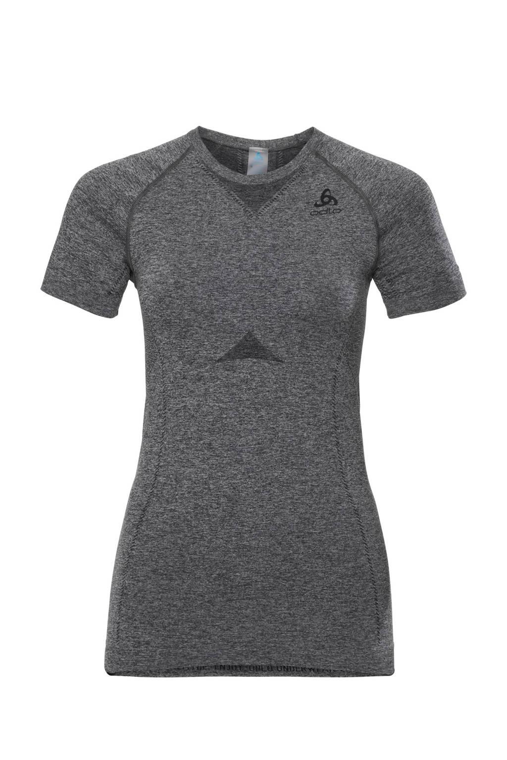 Odlo thermo sport T-shirt, Grijs melange