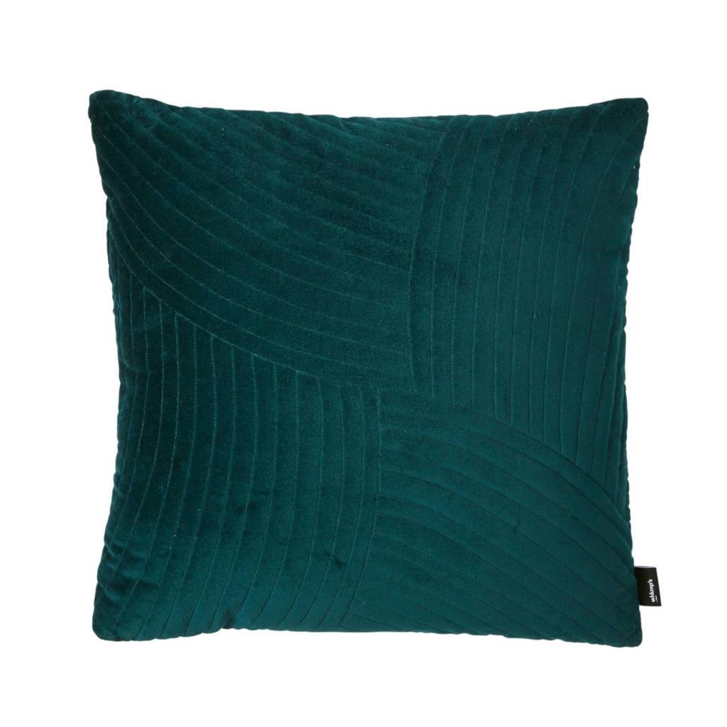 whkmp's own sierkussen (45x45 cm), Blauw/groen