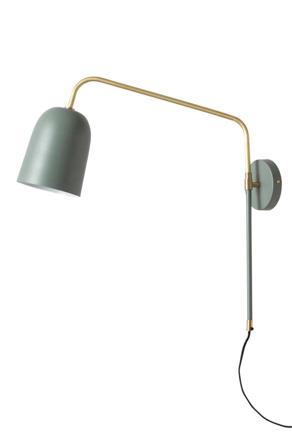 whkmp's own wandlamp, Zeegroen