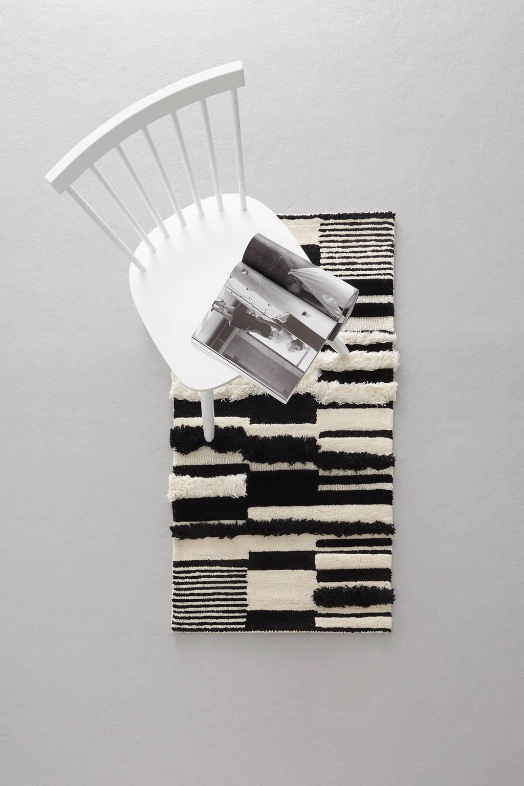 whkmp's own wollen vloerkleed  (120x60 cm)
