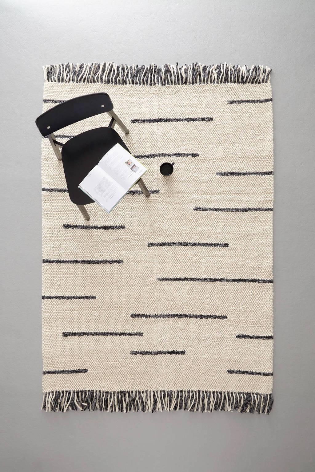 whkmp's own vloerkleed met wol  (230x160 cm)