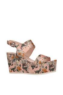 Sacha gebloemde sandalettes (dames)