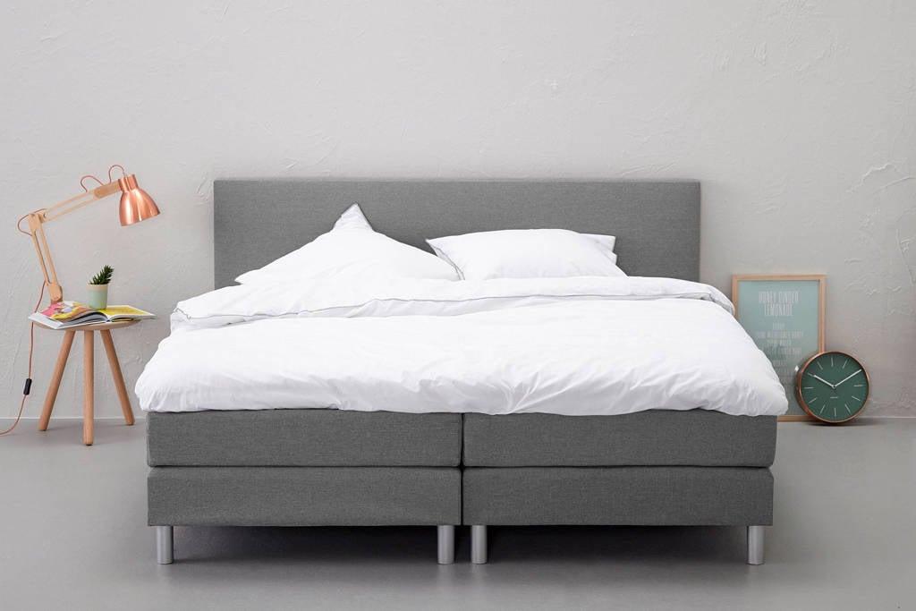 Beter Bed complete boxspring Ambra (180x200 cm), Lichtgrijs