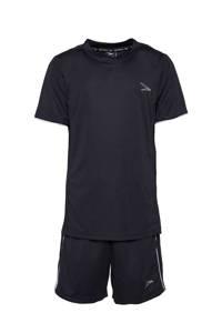Scapino Dutchy   sport T-shirt + sportshort, Zwart