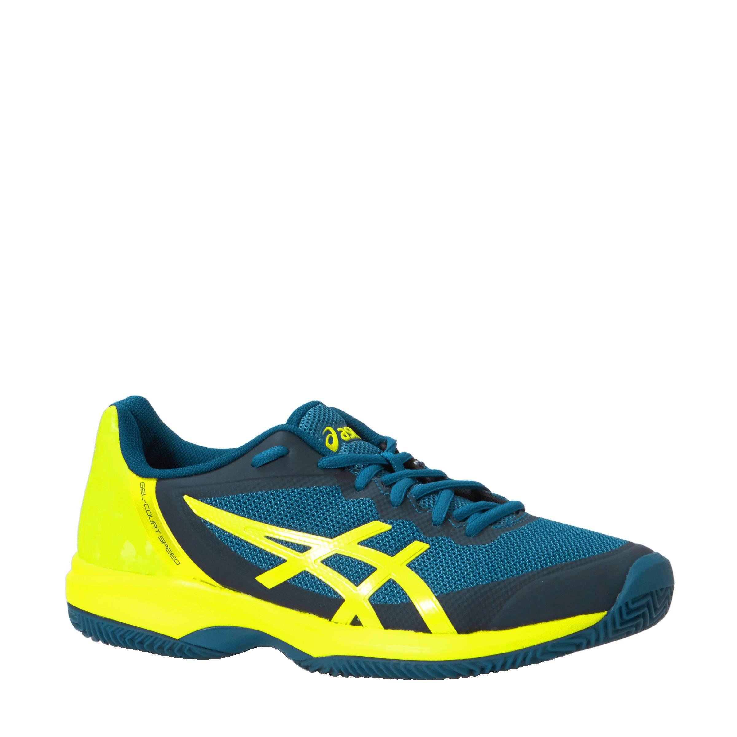 ASICS Gel Court Speed Clay tennisschoenen   wehkamp