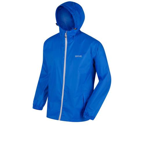 Mens Pack-It Regenjas Blauw Heren. Size S