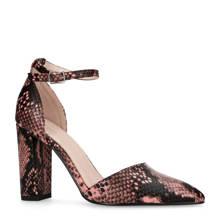 sandalettes met reptielenprint