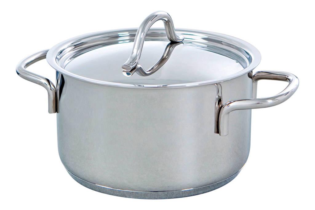BK Profiline kookpan, 20 cm - 3.5 liter, RVS/zilver