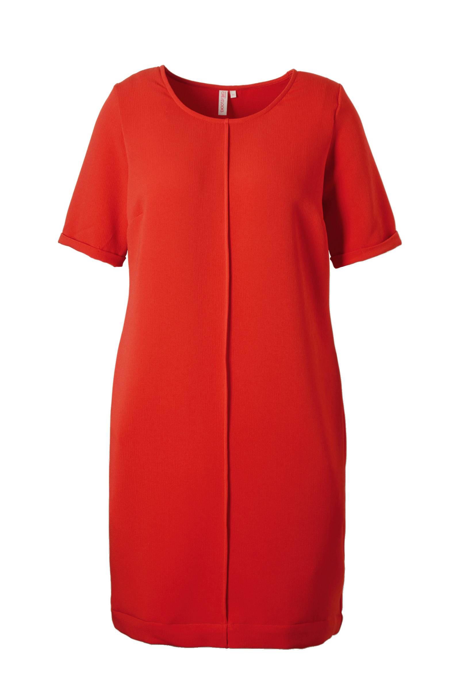 whkmp's great looks jurk met omgeslagen mouwen