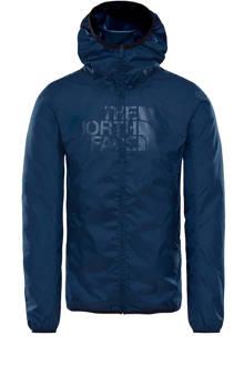 Drew Peak winddichte outdoor jas donkerblauw