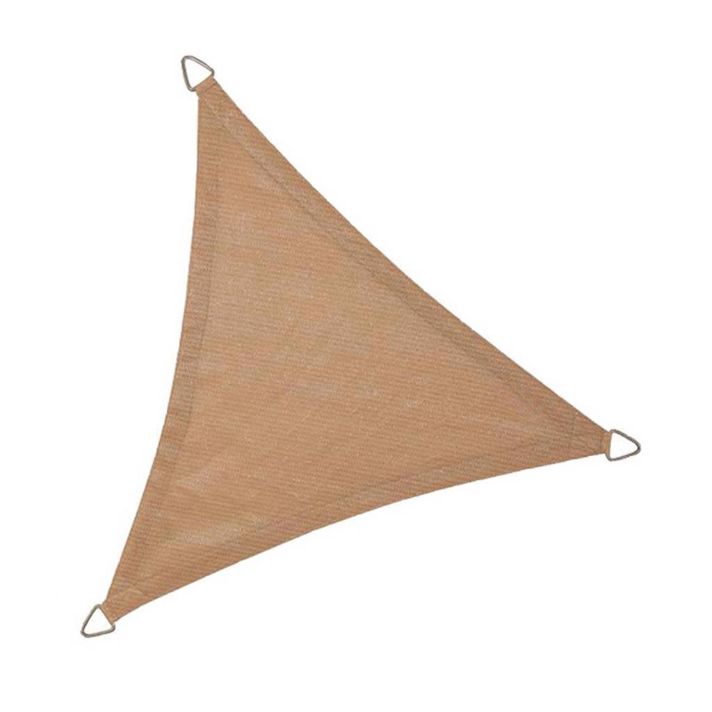 NC Outdoor schaduwdoek driehoek (5 m), Zand