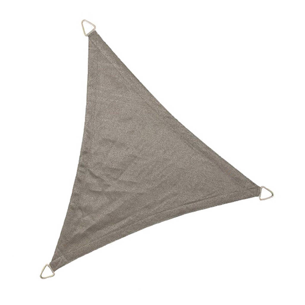 NC Outdoor schaduwdoek driehoek (5 m), Antraciet