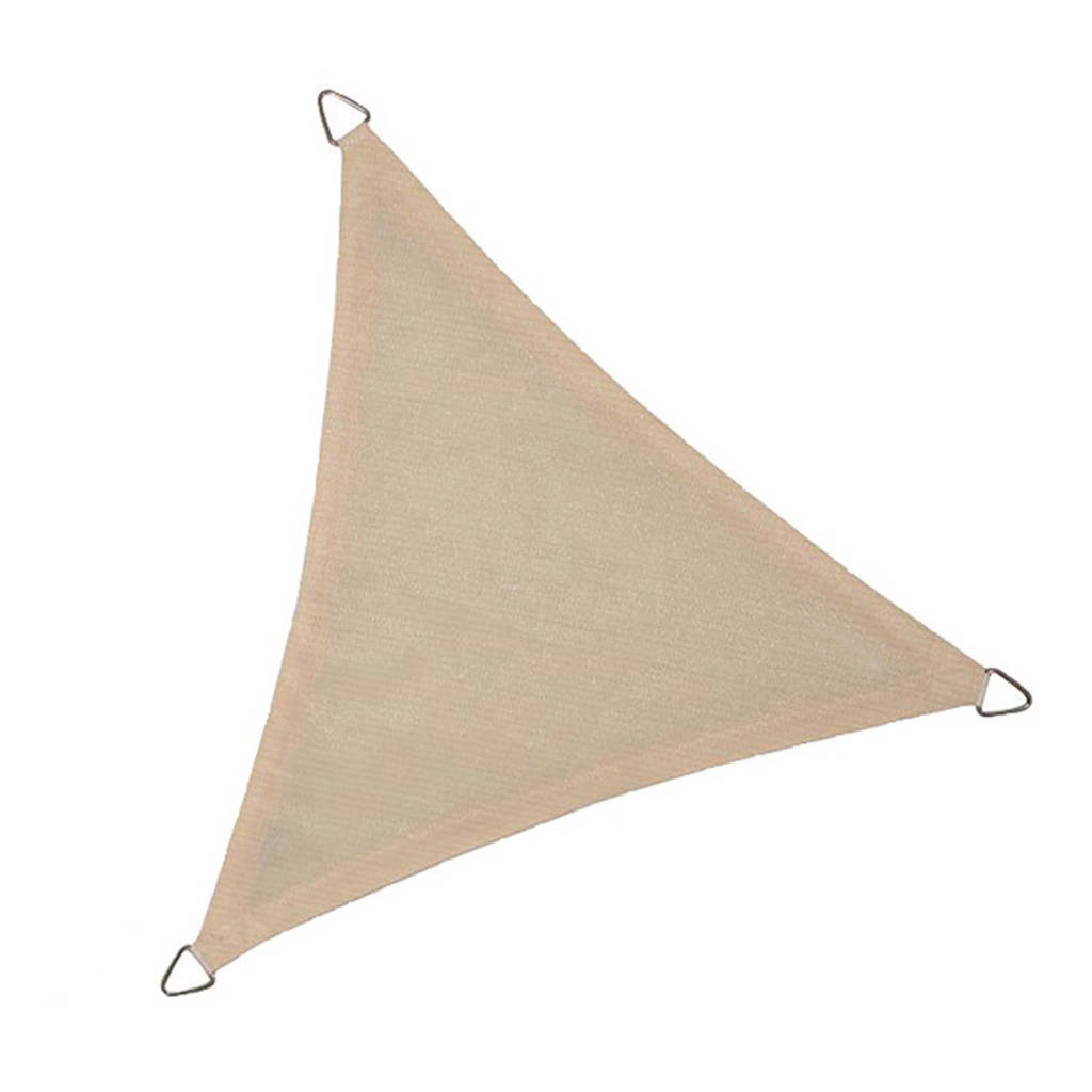 NC Outdoor schaduwdoek driehoek (5 m), Wit